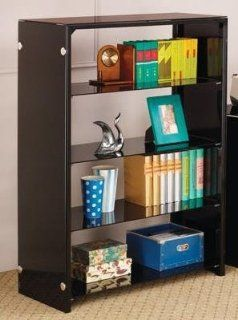 Lawnview Contemporary Book Rack with 4 Shelves by Coaster