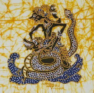 Original Batik Prada Art Painting on Cotton Fabric