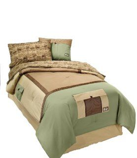 Animal Planet CS 5203 20KAKI Safari Expedition Comforter Set, Full