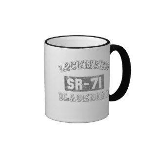 Lockheed SR 71 Blackbird Coffee Mugs