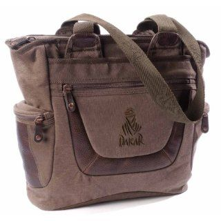 Dakar Laptop Shopper Desert City, braun, 43 x 34 x 17 cm: