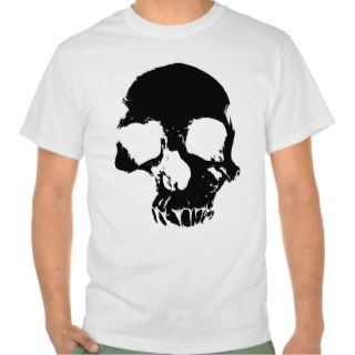 Scary skull cool gothic mens t shirt