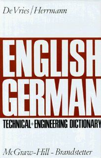 English German Technical and Engineering Dictionary: BD 2: