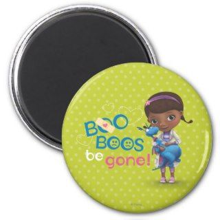 Doc McStuffins and Stuffy   Boo Boos Be Gone Refrigerator Magnets