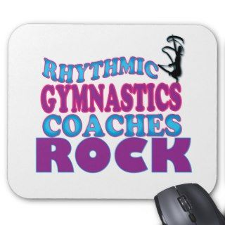 Rhythmic Gymnastics Coaches Gifts Mouse Pad