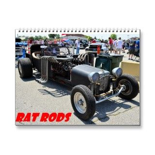 Rat Rod 2014 Calander Wall Calendar