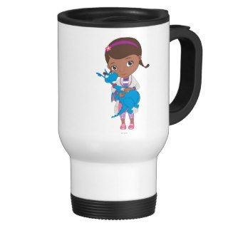 Doc McStuffins Holding Stuffy Coffee Mug