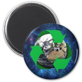 Earth Recycle Magnet