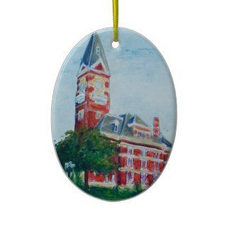Clarion Courthouse Painting Ornaments