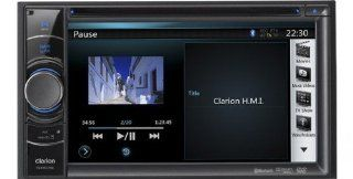 Clarion NX501EAV 2 DIN Moniceiver Bluetooth USB DVD: