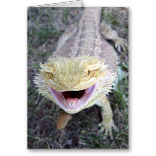 Super Happy Bearded Dragon Cards