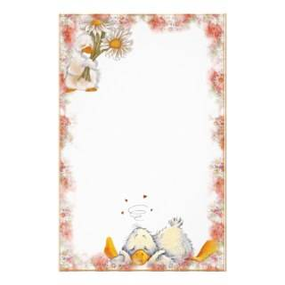 Daisy Duck. Stationary Personalized Stationery