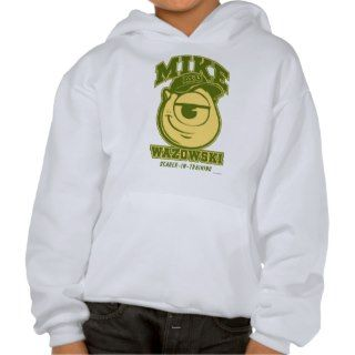 Mike Wazowski   Scarer in Training Hooded Sweatshirts
