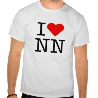 heart love NN nonude Tee Shirts