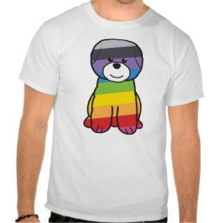 Bichon Frise Dog Cartoon Tee Shirts