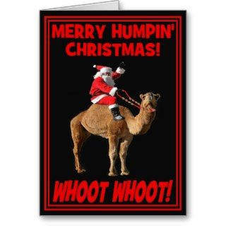 Merry Humpin Christmas Greeting Card