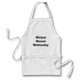 Wicked Weasel Wednesday Apron
