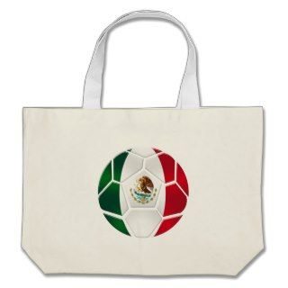 Mexican National football team fans futbol gifts Canvas Bag