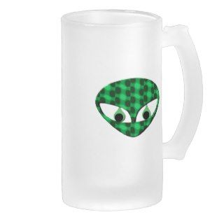 Area 51 Alien Frosted Beer Mug