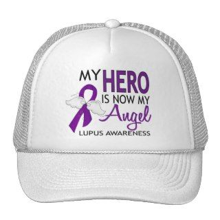 My Hero Is My Angel Lupus Hat