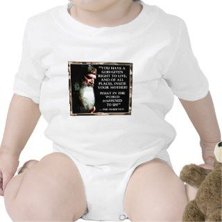 Phil Robertson Pro life Speech T shirt