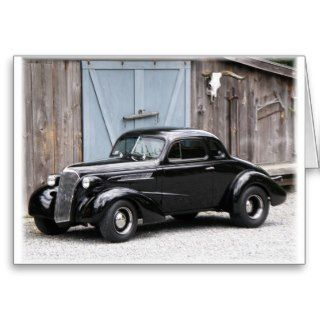1937 Chevy Coupe Cards