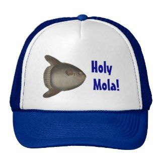 Holy Mola! Deep Sea Fishing Cap (Giant Sunfish) Mesh Hat