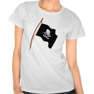 Pirate Henry Every Jolly Roger Flag hoist T shirts
