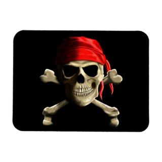 The Jolly Roger Vinyl Magnets