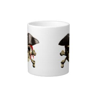 The Jolly Roger Pirate Skull Jumbo Mugs