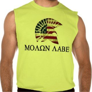 MOLON LABE SLEEVELESS T SHIRTS