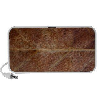 Brown Leaf Leaves Tree Speaker