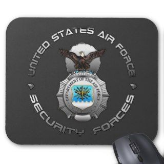 US Air Force Security Forces Mousepad
