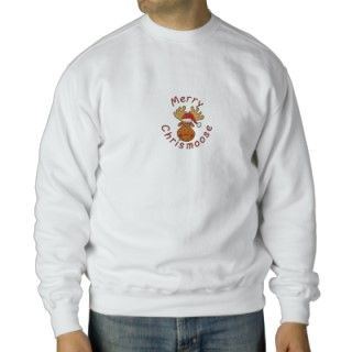 Merry Christmoose Embroidered SweatShirt