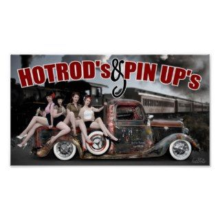 FuelFoto   Hot Rods & Pin Ups Poster