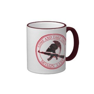 Molon Labe (Come and Take Them) Mug
