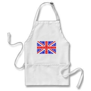 Cool Tribal tattoo British flag Apron