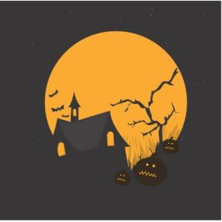 Haunted House Photo Cutouts