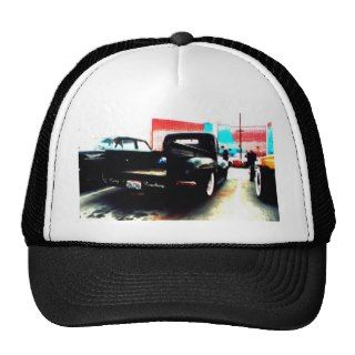 Goin Nowhere Rat Rod Ford Truck Hats