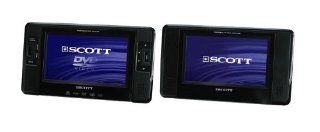Scott TSX 710 PACK Car DVD (DVD Player mit LCD 17,7 cm TFT Display