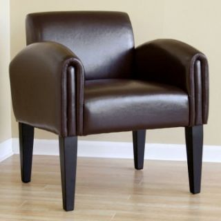 Hughes Leather Club Chair   Leather Club Chairs