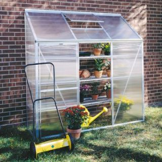 Juliana Lean To 6.25 x 6.4 Foot Mini Greenhouse Kit   Greenhouses at