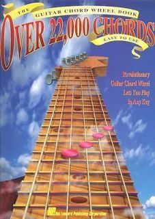 The Guitar Chord Wheel Book Over 22,000 Chords by Hal Leonard Corporation Staff 1993, Paperback