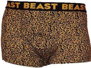 Mens Boys Leopard Print Beast Boxer Shorts Briefs Size s M L XL Free P P