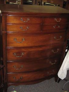 Vintage Mahogany Bedroom Set Full Size Bed by Dixie on PopScreen
