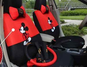 2012 New Mickey Mouse Seat Covers Car Seat Cover