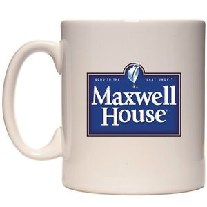 Classic Maxwell House Coffee Logo Both Sides New White 11oz Coffee Mug