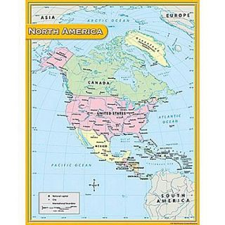 Teacher Created Resources North America Map Chart