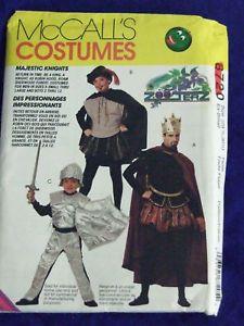 Uncut Sz CHILDS14 16 Robin Hood Costumes Sewing Pattern