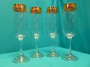 Crystal Champagne Flutes Set